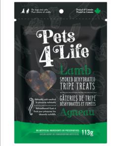 Pets 4 Life - Smoked Lamb Tripe - Bite Size
