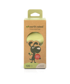 Earth rated compostable poop bags