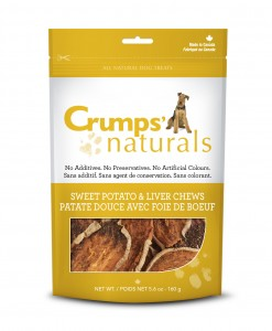 Crumps Naturals Sweet Potato with Liver