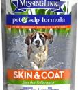 The Missing Link pet kelp skin & Coat formula dog health supplement