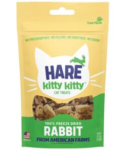 Hare of the Dog Rabbit treats for Cats Freeze Dried