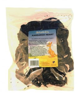 Kangaroo Heart Dog Treats