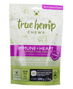 True Leaf Pet True Hemp Chews Immune Heart