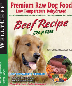 WellyTails beef_dog food