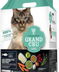 Canisource Grand Cru dehydrated raw cat food fish
