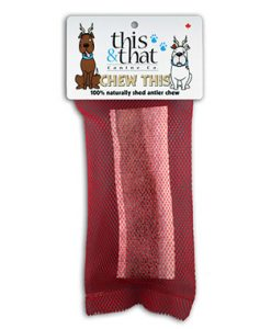 This & That Canadian Antler Natural Dog Chew