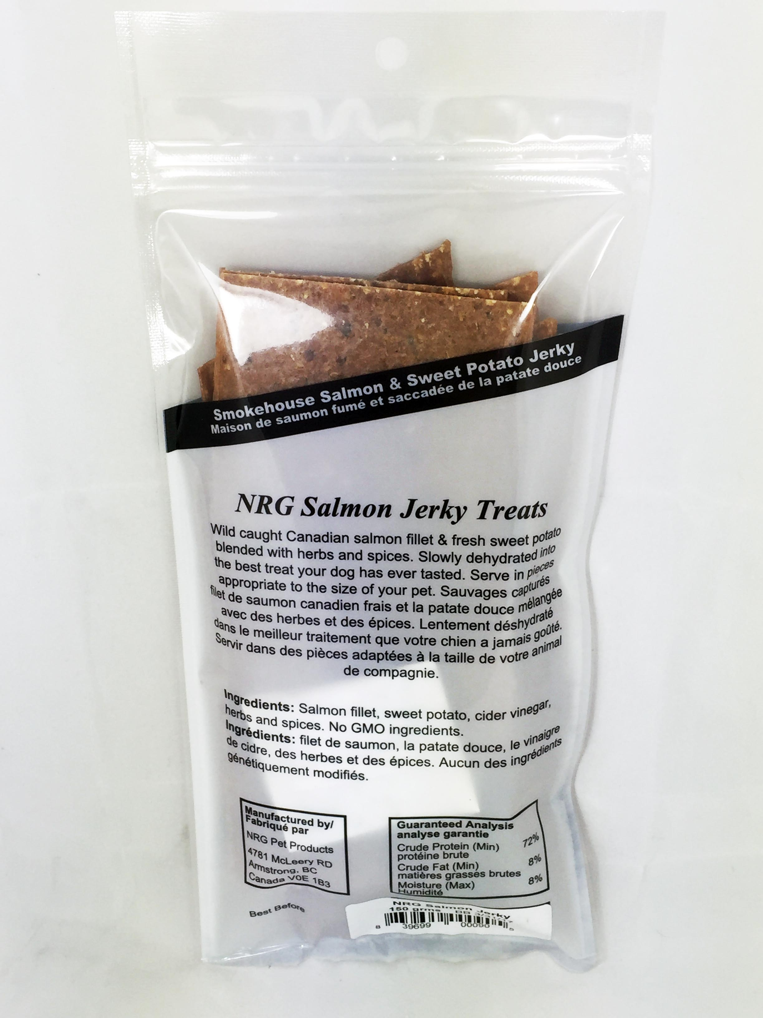 NRG salmon dog treats