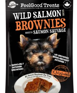 Wild salmon brownie Dog Treat