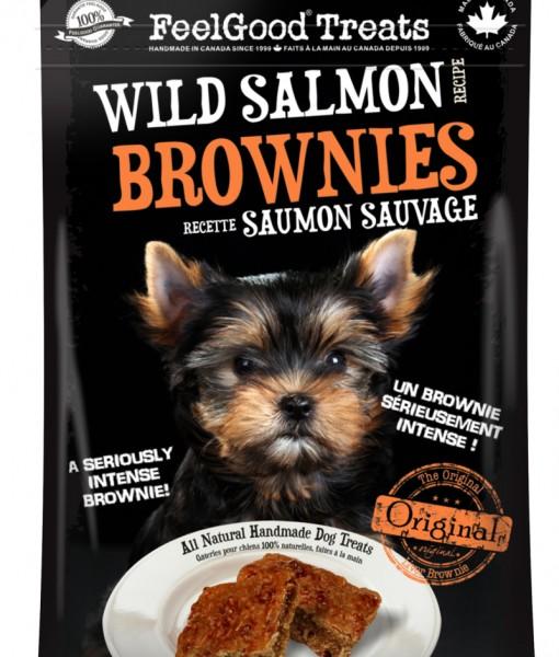 Wild salmon brownie Dog Treat