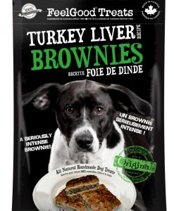 Feel Good Treats turkey brownie