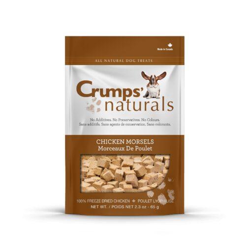 Crumps Naturals Chicken Morsels dog treat 280g