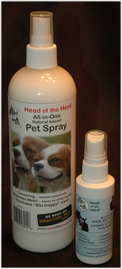 Head of the Herd Dog Spray