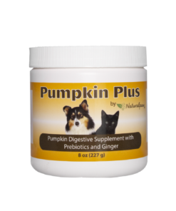 Naturalpaw Pumpkin Plus digestive supplement for dogs.