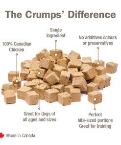 Crumps Naturals Chicken Morsels dog treat