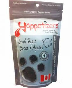 Yappetizers pet treats Lamb-Heart