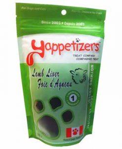 Yappetizers Lamb-Liver treats