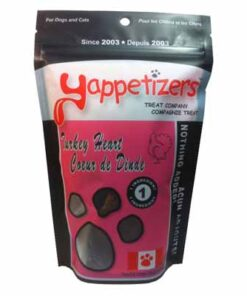 Yappetizers pet treats Canadian Turkey Heart
