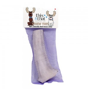 This and That Moose Antler dog chew XL