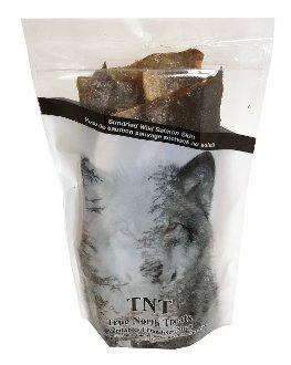NRG pet products Salmon skin dog treats