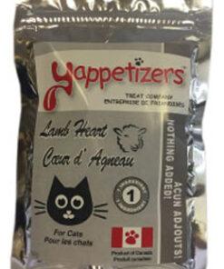 Yappetizers Lamb-Heart-Cat-treat