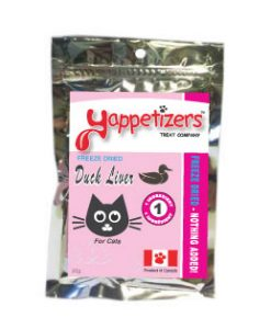Yappetizers duck liver cat treats