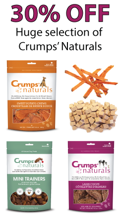 Crumps Naturals dog treat Sale