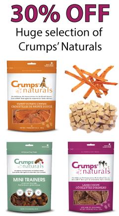 Crumps Naturals dog treat Sale