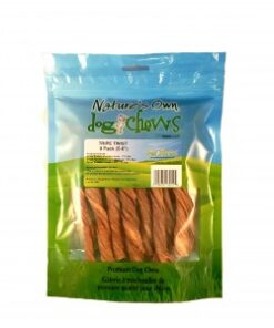 Nature's Own Beef Tripe Twist dog chew