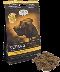 Darford Duck Zero/g minis dog treats