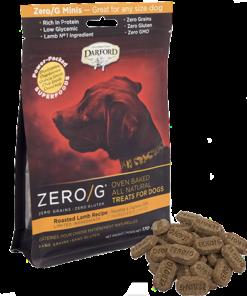 Darford Lamb Zero/g minis dog treats