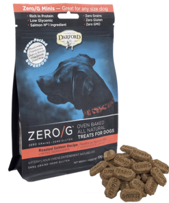 Darford Salmon Zero/g minis dog treats