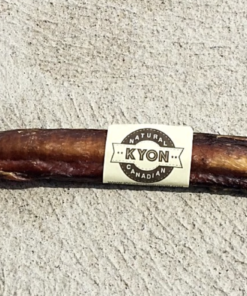 """Beef Pizzle 8"""" Bully Stick for Dogs."""