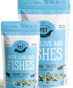 Dried Sardines for dogs and cats