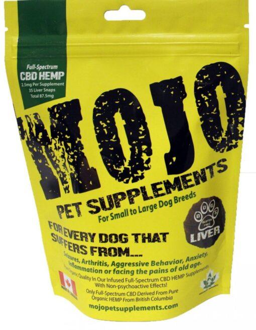 Mojo Pet Supplement CBD oil treats