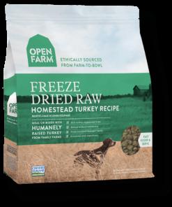 Freeze Dried Turkey Raw Dog Food.