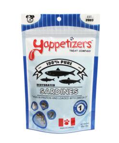 Yappetizers sardines pet treat