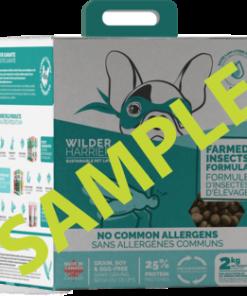 Wild Harrier Dog Food Farmed Insect Formula Sample