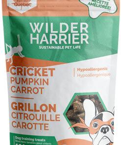 Wilder Harrier Cricket Pumpkin Carrot Flavour