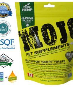 Mojo Pet Supplements CBD Beef Liver