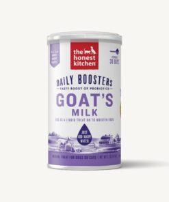 Honest Kitchen Goat milk with probiotics