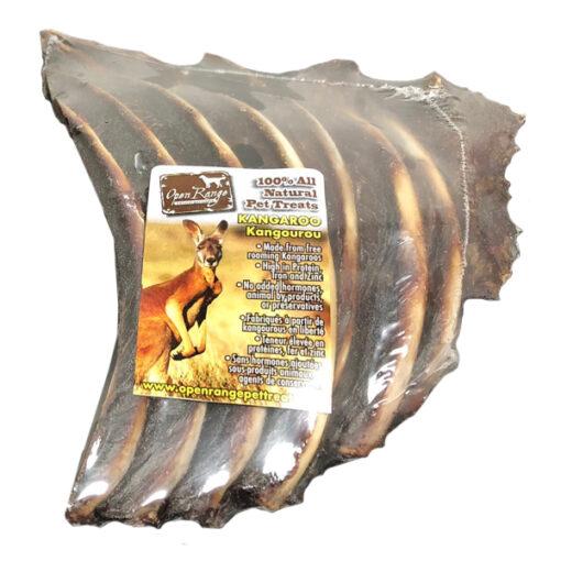 Open Range Kangaroo ribs dog chew
