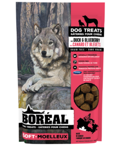 Boreal soft dog treats Duck and Blueberry
