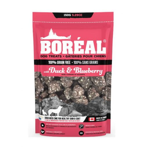 Boreal dog treats Duck and Blueberry