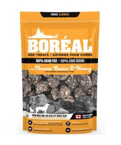 Boreal dog treats peanut butter and honey