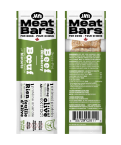 Jay's Tasty Adventures Beef Meat Bars for dogs