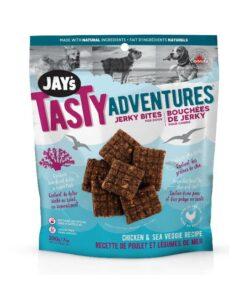 Jay's Tasty Adventures Chicken Sea Veggie Jerky