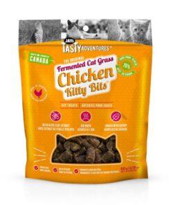 Jay's Tasty Adventures Fermented Cat Grass Chicken Kitty Bits