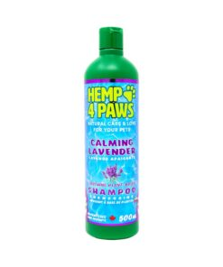 Hemp 4 Paws natural Lavender Shampoo for dogs 500ml