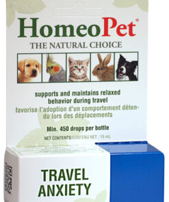 Travel Anxiety remedy for pets