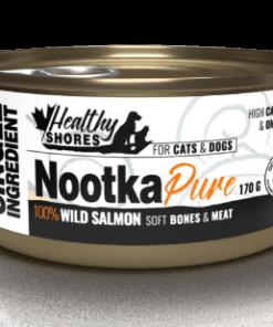 Healthy Shores Nootka Pure wild salmon 170g